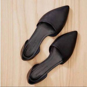 Jenni Kayne D'Orsay flats black leather 40 9.5